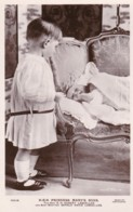 AS03 Royalty - HRH Princess Mary's Sons, GH Hubert And Gerald David - RPPC - Royal Families
