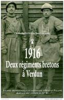 Guerre 14-18 : 1916 Deux Régiments Bretons (41è - 241è RI De Rennes) à Verdun Par Guérin Et Lagadec (ISBN 9782954488103) - War 1914-18