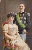 AS03 Royalty - King And Queen Of Bulgaria? - Royal Families