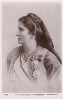 AS03 Royalty - H.M. Queen Milena Of Montenegro - RPPC - Familles Royales