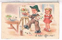 ILLUSTRATEUR    J. GOUGEON      LE  TALENT   SUFFIT  A  TOUT   !....  PH951 - Gougeon
