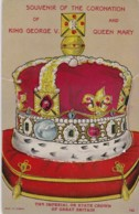 AS03 Royalty - Coronation Souvenir King George V And Queen Mary - Lift The Flap - Royal Families