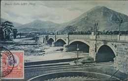 O) 1907 CIRCA-PERU, ADMIRAL GRAU SCT 169 2c Brown And Lilac, BALTA BRIDGE AND RIMAC RIVER, POSTAL CARD XF - Peru