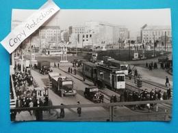 Berlin-Alexanderplatz, Strassenbahn, Lkw, 1946 - Mitte