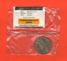 Australia 5 Dollari Five Dollars 1988 Mint Coin Parlament Hause - Moneda Decimale (1966-...)