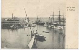11020-  Egypte -  PORT  SAÏD  : VUE DU PORT   DE  PORT SAÏD   -  PAQUEBOT A QUAIS  -    CANAL De SUEZ    En  1904 - Port Said