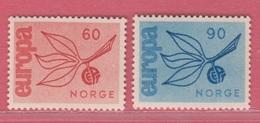 1965 ** (sans Charn., MUH, Postfris)  Yv  486/7Mi  532/3  NHK  566/7 - Unused Stamps