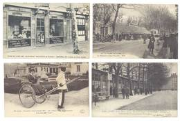 4 Cpa Lyon - Expo, Pouss-pouss, Foire, Quai Saint Clair, Manufacture De Tabliers ...  ( S. 3142 ) - Lyon
