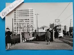 Berlin-Alexanderplatz, Strassenbahn Linie 63, 1965 - Mitte