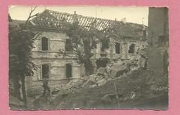 Vogesen - STOSSWEIER - STOSSWIHR - Carte Photo - Schulhaus - Ecole - Ruines - Guerre 14/18 - Ohne Zuordnung