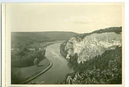 Vallée De La Meuse Site De Freyr  Impression Brillante Sur Carton Vernis Vers 1930 24,4 X 17,5 Cm - Reproductions