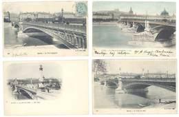 4 Cpa Lyon - Ponts, Lafayette, Guillotière, Midi, ... ( S. 3146 ) - Lyon