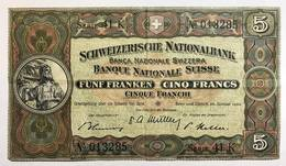 Svizzera 5 Francs Franken Franchi 1949 LOTTO 504 - Svizzera