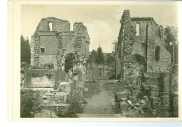 Vallée De La Semois Ruines De L'Abbaye D'Orval Impression Brillante Sur Carton Vernis Vers 1930 24,4 X 17,5 Cm - Reproductions