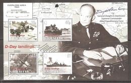 GIBRALTAR 2004 D- DAY LANDINGS 60th ANNIV MS - Gibraltar