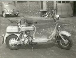 """1766 """" LAMBRETTA D 125 DEL 1953 """" FOTO ORIG. - Moto"""