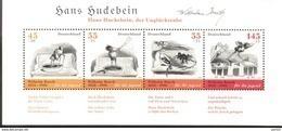 Bund Block 71 Wilhelm Busch Hans Huckebein MNH ** Postfrisch - [7] República Federal
