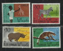 SOMALIA 1960 PRO CHILDHOOD - PRO INFANZIA MNH POST AFIS - Somalia (1960-...)