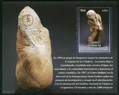 Peru (2014) - Block -  /  Heritage - Archeology - Archeologie - Arqueologia - Momia - Mumie - Momie - Mummy - Leymebamba - Archeologie