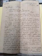 CARTA DE LONDRES 28-ABRIL 1876 KNOWLES & FOSTER - United Kingdom