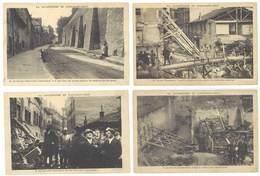 4 Cpa Lyon - Saint-Jean - Catastrophe N°4, 6, 10, 14 ( S. 3147 ) - Lyon
