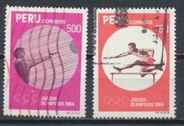 °°° PERU - Y&T N°772/73 - 1984 °°° - Peru