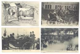 4 Cpa Lyon - Voyage Présidentiel, Président Fallières, Poincaré ... ( S. 3148 ) - Lyon