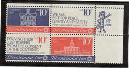 V12 - ETATS UNIS - 1030/1033 **MNH De 1974 - - Vereinigte Staaten