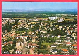 CPM-90- BEAUCOURT - VUE GÉNÉRALE AÉRIENNE_985*4480* SUP** 2 SCANS - Beaucourt
