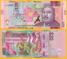Bahamas 20 Dollars P-new 2018 UNC - Bahamas