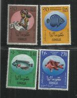 SOMALIA 1962 PRO INFANZIA CHILDHOOD SERIE COMPLETA MNH POST AFIS - Somalia (1960-...)