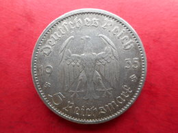 Germany 5 Reichsmark 1935 A  Potsdam Garrison Church - [ 4] 1933-1945: Derde Rijk