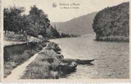 Godinne - La Meuse Et L'Eglise - Circulé En 1949 - TBE - Yvoir - Yvoir