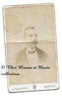 MANTES - MONSIEUR COTY - PAR TALUFFE - YVELINES - CDV PHOTO - Persone Identificate