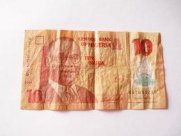 A; Tout Petit Prix De Départ. Vendre Un Billet Du Nigéria De 10 Naira - Nigeria