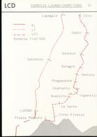 Fiche --- LCD   Ferrovia -  Lugano - Cadro - Dino - Chemins De Fer