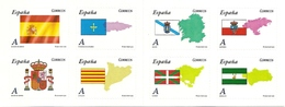 SPAIN, 2009, Booklet 47,  Autonomias (Flags) - 1931-Today: 2nd Rep - ... Juan Carlos I