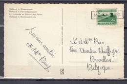 Postkaart Van Middelburg Naar Bruxelles - Period 1949-1980 (Juliana)