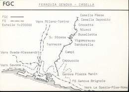 Fiche ---  FGC   -- Ferrovia Genova - Casella - Ferrovie