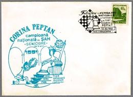 CORINA PEPTAN - Campeona Nacional Senior De Ajedrez - Chess. Timisoara 1992 - Ajedrez
