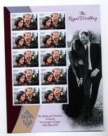 E18 South Georgia The Royal Wedding Full Sheet 2018 MNH - South Georgia