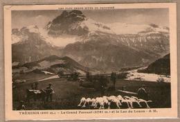 38 / TRÉMINIS - Troupeau De Moutons, Vache - Grand Ferrand Et Lac Du Lozon - Autres Communes