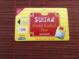 Phonecard Maroc Sultan Tea Used - Morocco