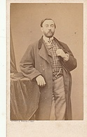 PHOTO CDV 19 EME HOMME ELEGANT Cabinet BAYARD BERTALL A PARIS - Anciennes (Av. 1900)