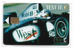Spain - West Tobacco Formula 1 - CP-240 - 01.2002, 6€, 8.655ex, NSB - Spain
