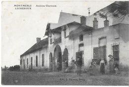 MONTMERLE LESCHEROUX 01 AIN ANCIENNE CHARTREUSE  EDIT. FERRAND - Otros Municipios