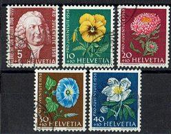 Schweiz 1958 // Mi. 663/667 O (030..409) - Used Stamps