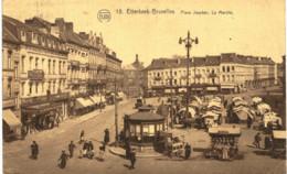 ETTERBEEK- Bruxelles  Place Jourdan, Le Marché. - Etterbeek