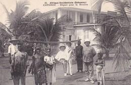 DAHOMEY / COTONOU / DEPART POUR LA BROUSSE / TBE - Dahomey