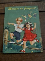 Oud Leesboek MEISJES En JONGENS  Gedrukt In Nederland - Books, Magazines, Comics